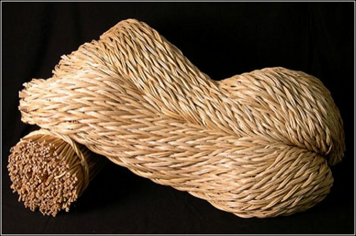 Плетеные деревянные инсталляции от Alastair Heseltine