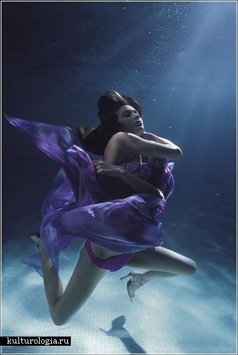 Подводный мир красоты и грации от фотографа Зены Холловей  (Zena Holloway)