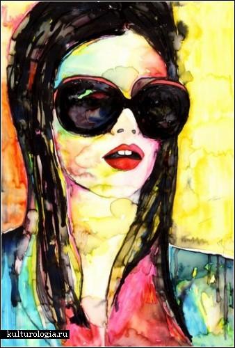 Фатальные женщины на картинах художницы Zoe Regoczy