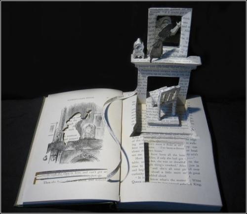 Книжное искусство Su Blackwell