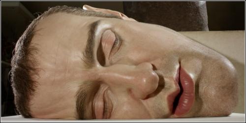 Mask II (скульптор Ron Mueck)