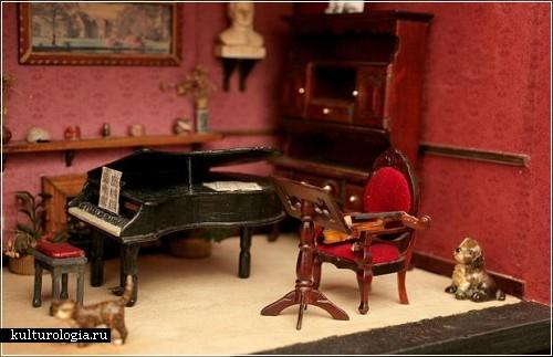 Кукольный дом Питера  Ричеса  (Peter Riches)