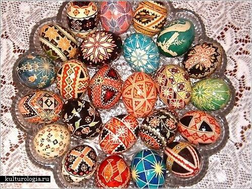 Раскраска и украшение пасхальных яиц