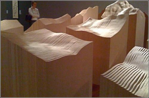 Скульптуры от Maya Lin