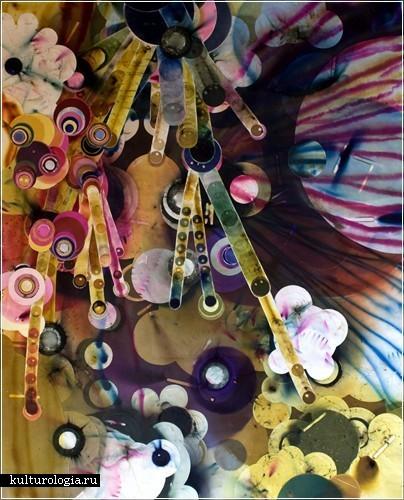 «Пиротехника» - картины, нарисованные фейерверками. Художница Розмари Фиоре (Rosemarie Fiore)