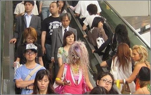 Гангуро – молодежная субкультура в Японии