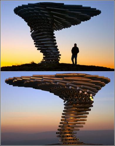 Поющее звенящее дерево (архитекторы Mike Tonkin и Anna Liu)