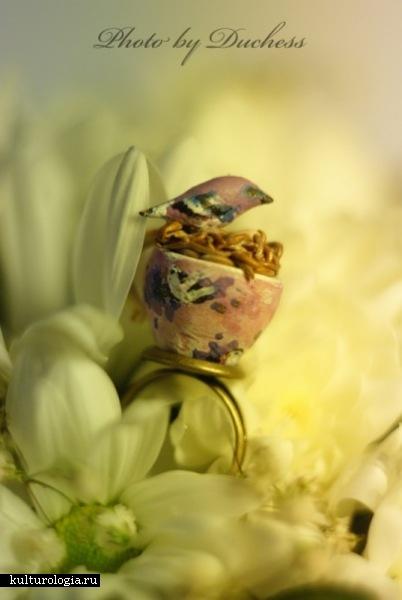 кольцо весна