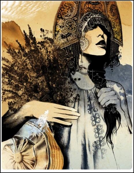 Богатый внутренний мир в иллюстрациях Алексея Курбатова: к тексту Л. Петрушевской *Признание в любви*