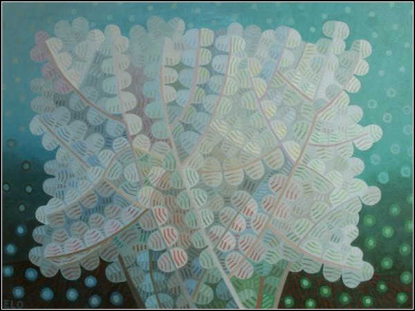 Абстрактные картины Элохима Санчеса: *Куст*