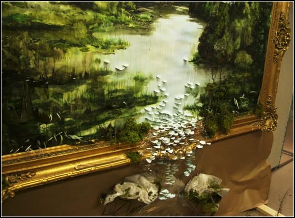 Современный пейзаж Грегори Эвклида