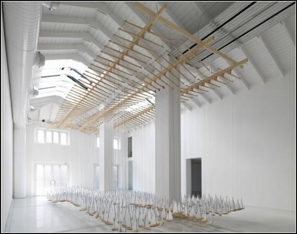 Непобедимая армада: инсталляция из парусных корабликов от Джейкоба Хасимото
