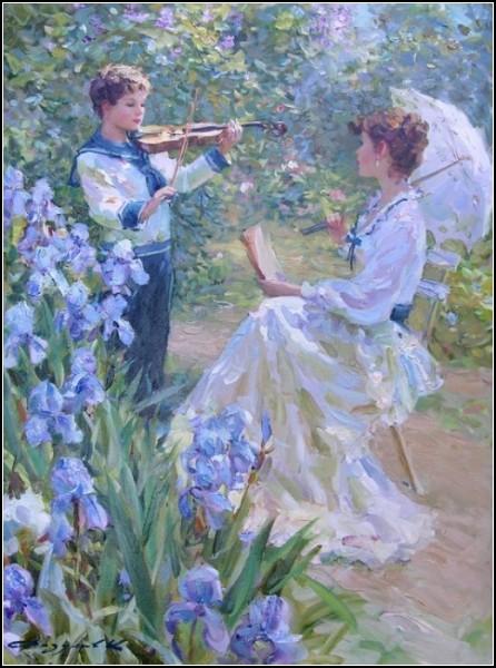 Сочетание реализма и импрессионизма в картинах Константина Разумова