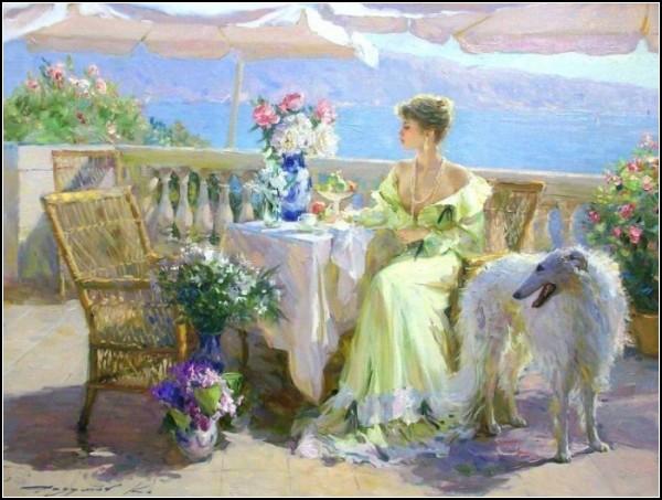 Воплощение женственности на картинах Константина Разумова