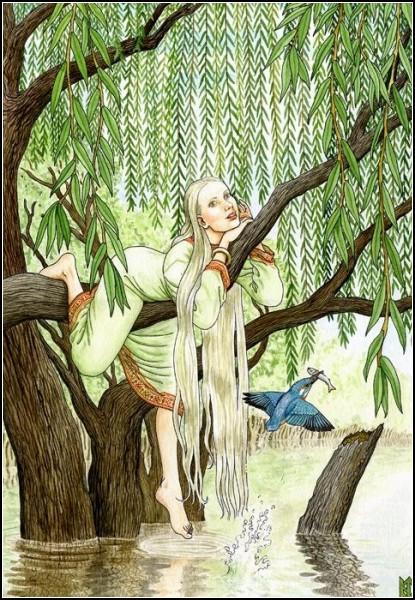Деревья в женских образах: *Ива*