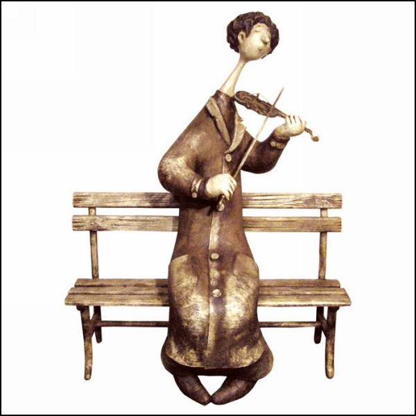 *Уличный скрипач*