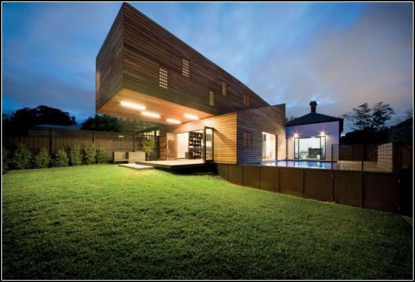 Троянский дом - оригинальный дом в Мельбурне