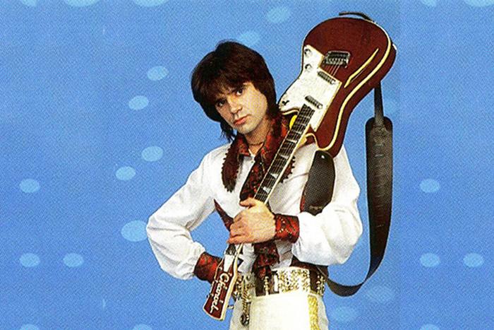Евгений Осин в начале своей музыкальной карьеры.