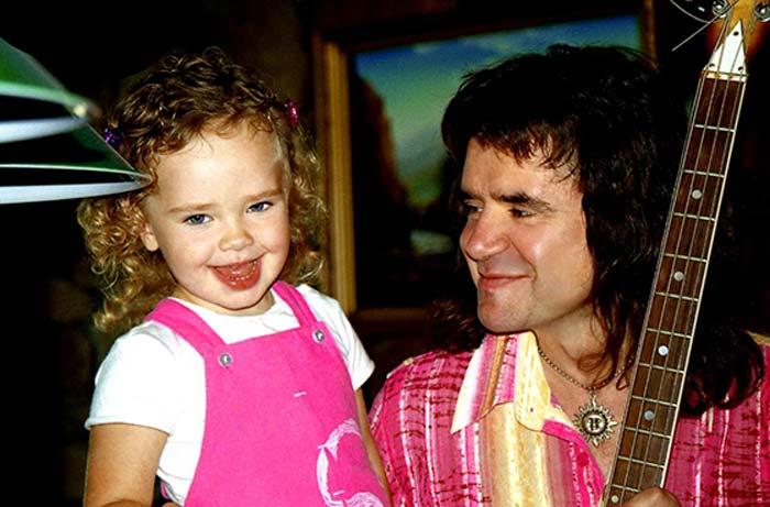 Евгений Осин с дочерью Агатой.