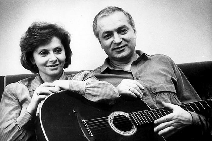Татьяна и Сергей Никитины.