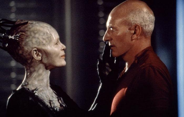 Кадр из фильма «Звездный путь: первый контакт.»