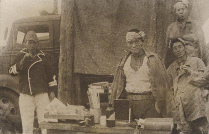 Японские военнопленные в СССР.
