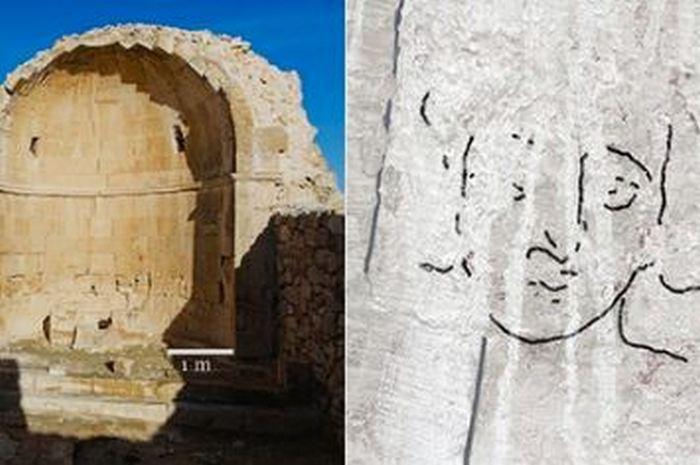 Древнейшее изображение Христа на Святой Земле