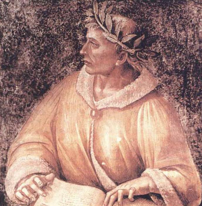 Древний поэт Овидий.