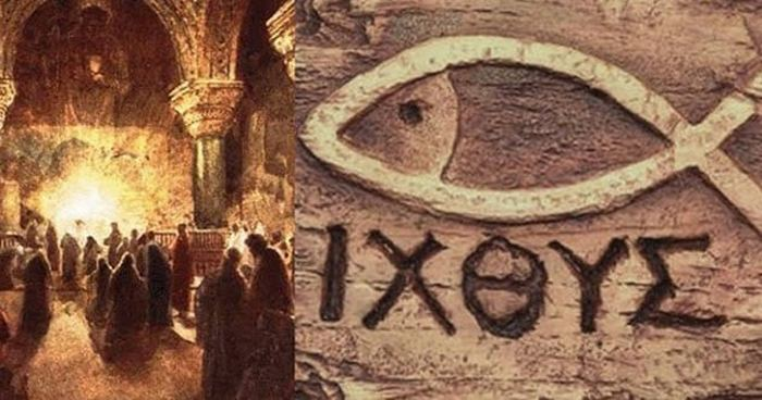 Odio humani generis - вот в чём обвиняли христиан.