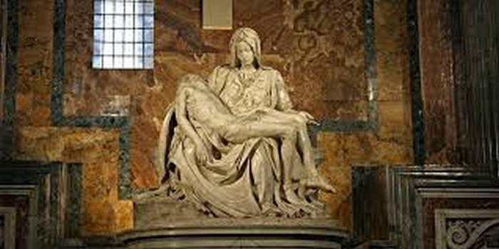 Пьета Микеланджело в базилике Святого Петра