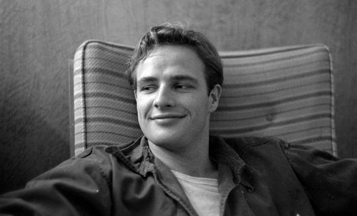 Марлон Брандо в молодости.