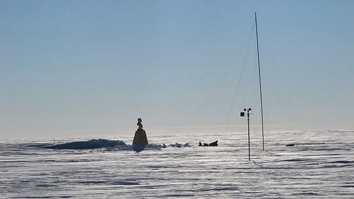 Бюст Ленина в Антарктиде.