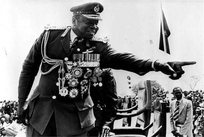 Как людоел и поклонник Гитлера Иди Амин стал диктатором.