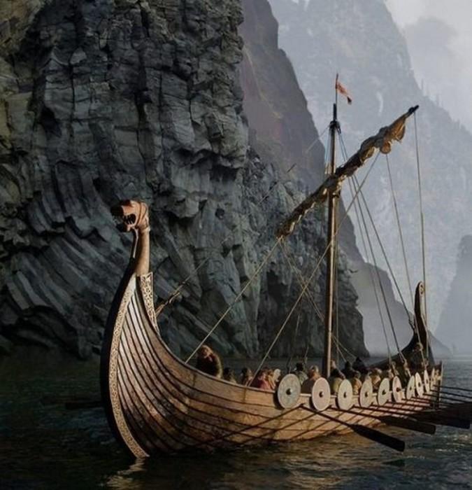 Анималистические мотивы у викингов.