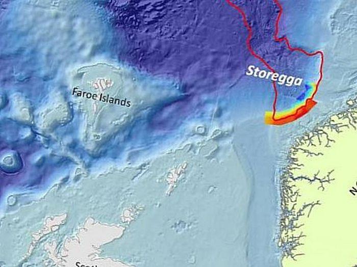Оползень Стурегга в Норвежском море - один из крупнейших в истории катаклизмов.