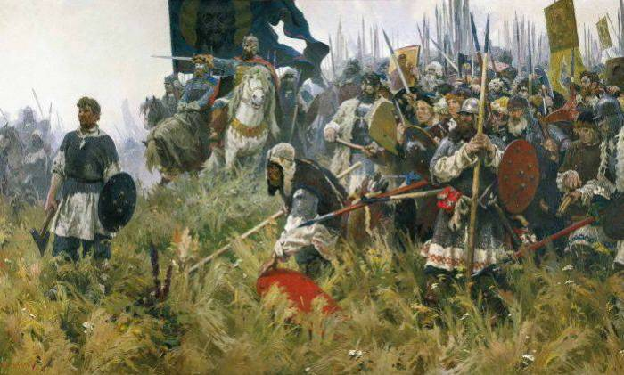 На Руси XIII века тысяцкий возглавлял войско вместе с князем.