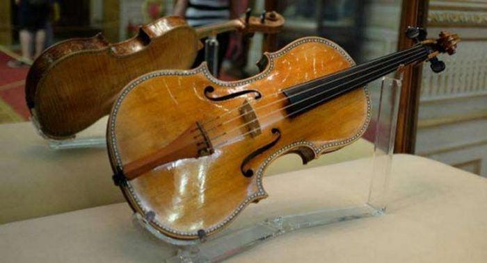 Скрипки Страдивари.