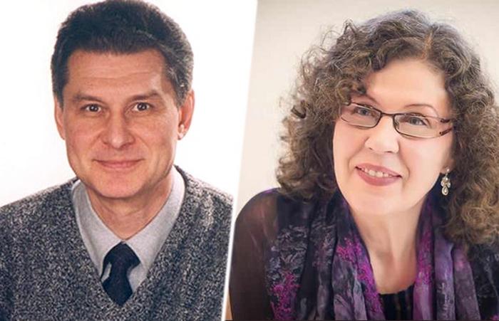 Александра Маринина и Сергей Заточный.