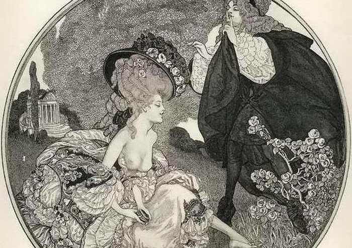 Художественные эксперименты с нормами морали от мастеров картин «для взрослых» XIX века.