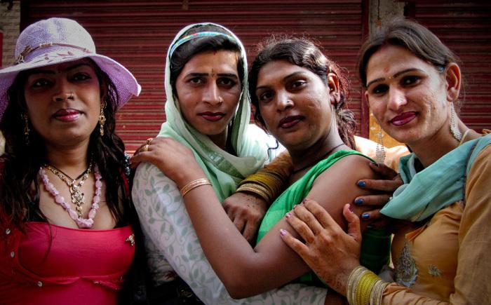 Индийские хиджра.