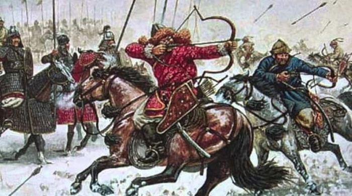 Армия во времена Чингизхана.