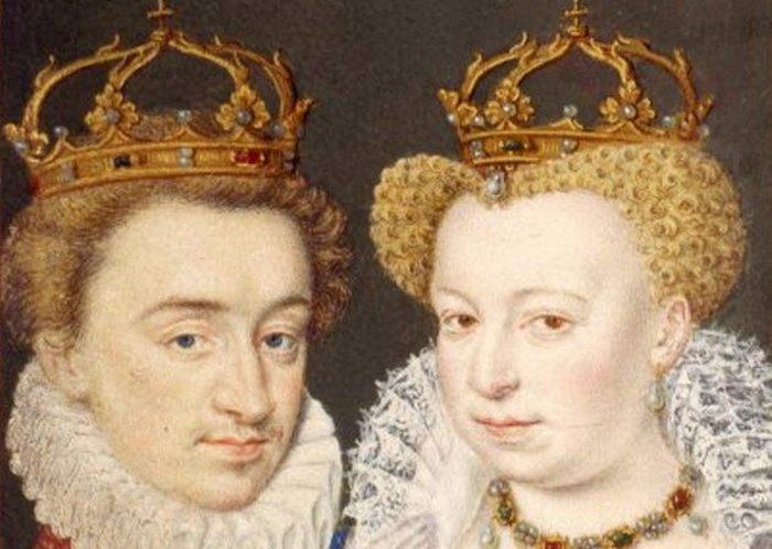 Генрих IV и Маргарита Валуа.