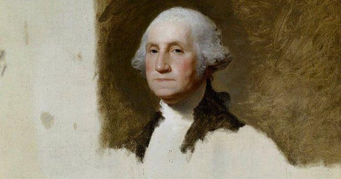 Портрет Джорджа Вашингтона. Гилберт Стюарт