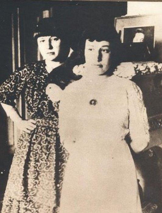 Анастасия и Марина Цветаевы. 1914 г.