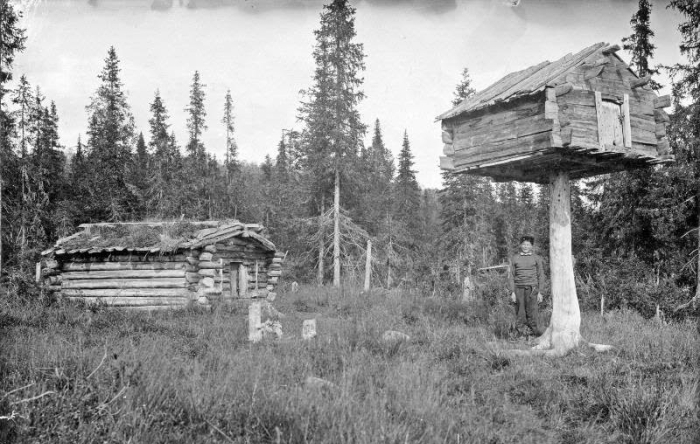 Архангельская губерния, 1910 год.