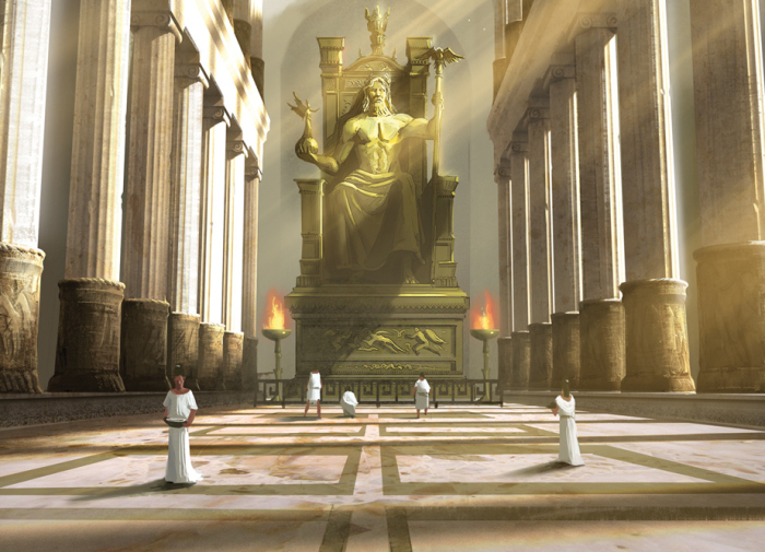 Калигула видел сидящим на этом троне себя.