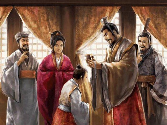 Во время китайской церемонии совершеннолетия.