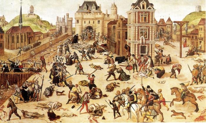 Варфоломеевская ночь (ок. 1572-84). Франсуа Дюбуа