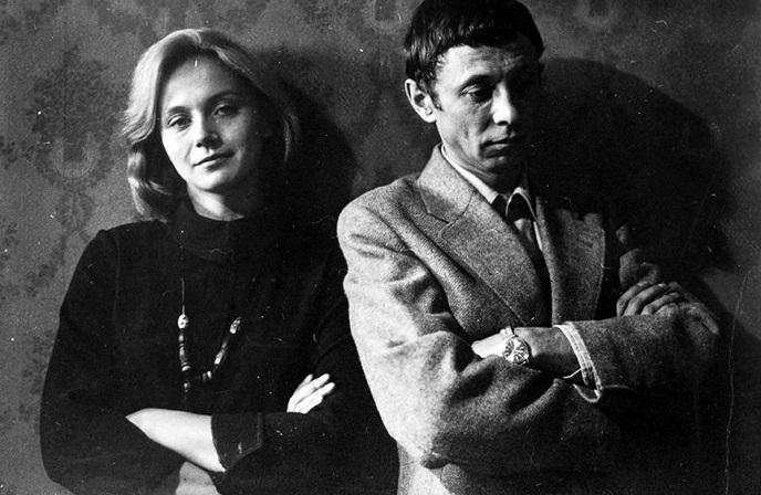 Ирина Купченко и Олег Даль.