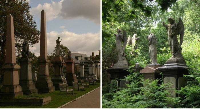 Гид по атмосферным кладбищам Лондона.
